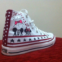 Disney Shoes  Converse by denimtrend on Etsy