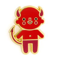 Devil Baby Enamel Pin