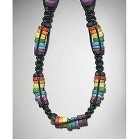 Rainbow Bead Necklace - Spencer's