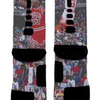 MJ Custom Nike Elites