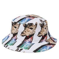 Rook Neck Tat Bucket Hat - Mens Backpack - White - One