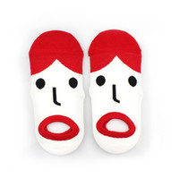 B2 – FUNNAY FACE SOCKS – RED