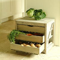 rustic vegetable store by garden trading | notonthehighstreet.com