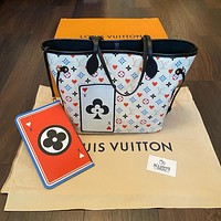 Louis Vuitton  LV Playing card shopping bag