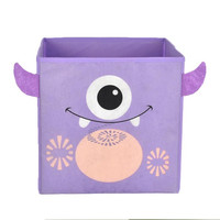 Nuby Purple Monster Folding Storage Bin