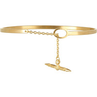 Maria Black | Spear Chain gold-plated bracelet | NET-A-PORTER.COM