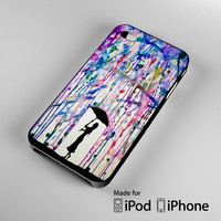 Colorful Art Umbrella Girl A0351 iPhone 4 4S 5 5S 5C 6, iPod Touch 4 5 Cases