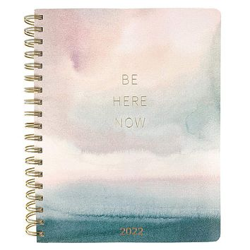 2022 Watercolor Large 18-Month Spiral Planner