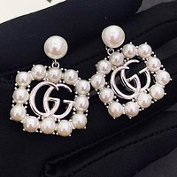 GUCCI New fashion more pearl long earring women