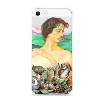 Dolphin Woman iPhone Case