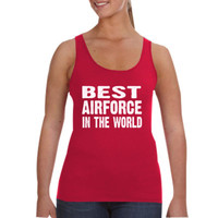 Best Airforce In The World - Ladies Tank Top