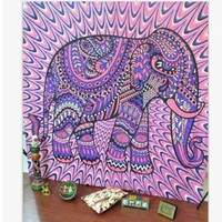 elephant blanket hanging wall tapestries new hot sale fashion elephant wall tapestry