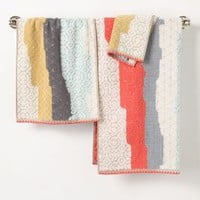 Sechura Towel Collection by Anthropologie Taupe