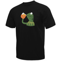 Sipping Frog Custom T-Shirt