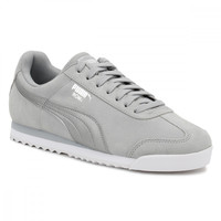 PUMA Womens Metallic Safari Quarry Roma Basic Trainers