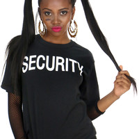DOUBLE SIDED SECURITY TEE