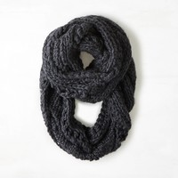 AEO Cable & Open Knit Loop Scarf