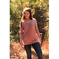Lavender Pullover Sweater