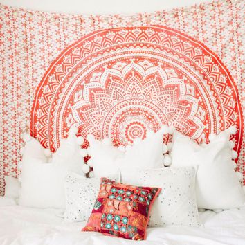 Cilected New Mandala Tapestry Wall Hanging For Bedroom Dorm Living Room Parlor Decor Boho Background Art Tapestry Table Cloth