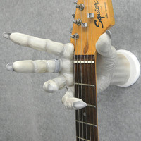 """VAMPIRE / DRACULA HAND """"Painted"""" Resin Cast - Guitar Hanger / Holder / Grip - clothes, hats, jewelry...."""