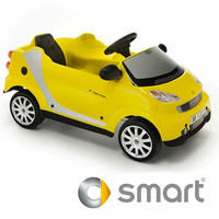 Licensed 6v Yellow Smart Car Battery Powered Ride on - £179.95 : Kids Electric Cars, Little Cars for Little People