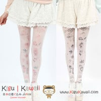 NEW Flower Fairy Print Leggings KK215