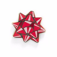 Bow Pin - Red