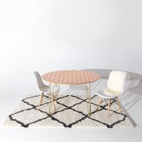 Allyson Johnson Dainty Blush Round Table