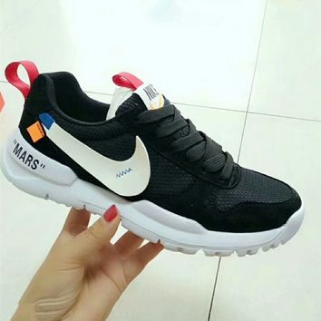 """""""Nike x OFF-White"""" Unisex Casual Fashion Breathable Running Shoes Couple Sneakers"""