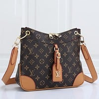 LV Louis Vuitton Classic Ladies Zipper Shoulder Crossbody Bag