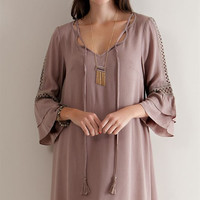Don't Know What Your Thinking Dress: Mocha