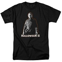 Halloween T-Shirt Michael Myers Glow Black Tee