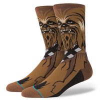 Stance Star Wars Chewie Socks In Brown