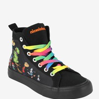 Nickelodeon Retro Hi-Top Sneakers