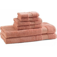 bamboo bath towels | coral