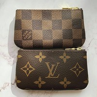 Ianlaynedesigns: LV Louis Vuitton Stylish Zipper Key Pouch Clutch Bag Wristlet