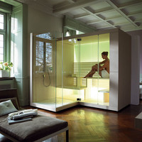 Sauna with shower INIPI Inipi Collection by DURAVIT Italia   design EOOS