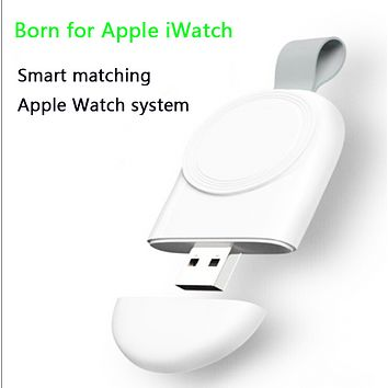 For Apple Magnetic Charger iWatch Watch Charger USB Portable Watch Wireless Charger