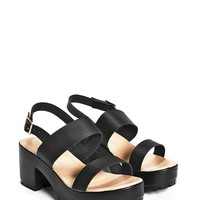 Cleated Two Part Sandals