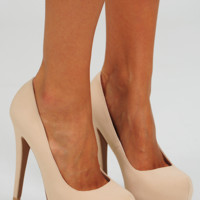 Step Up Your Game Heels: Cream