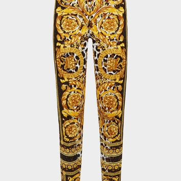 Versace Wild Baroque SS'92 Print Jeans for Women   US Online Store