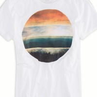 AEO Men's Photo Real T-shirt (White)