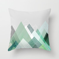 Graphic 107 Throw Pillow by Mareike Böhmer Graphics