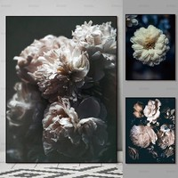 print Canvas Pictures flower Wall art print landscape flower realism New modern  decoration for living home