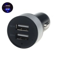 Universal Car 12V 24V To 5V Dual USB Charger Adapter For iPhone 6 6s Plus For Samsung For LG For HTC Cell phone GPS Accessories