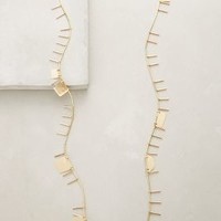 ACB by Annie Costello Brown Sticks & Stones Necklace in Gold Size: One Size Necklaces