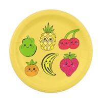 Kawaii Fruits - Paper Plates 7 Inch Paper Plate