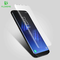 FLOVEME For Samsung S8 S8 Plus Screen Protector Soft 3D Arc Full Cover Film For Samsung Galaxy S8 S8 Plus Screen Protector