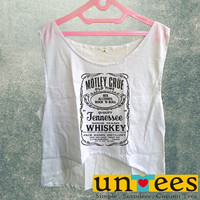 Women's Crop Tank - Motley Crue Design
