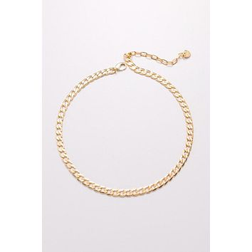 Nakamol Classic Flat Chain Necklace